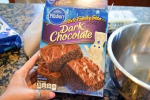 Oreo Crunch Brownies-5