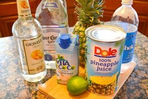 Sparkling Pineapple Coconut Margaritas_05
