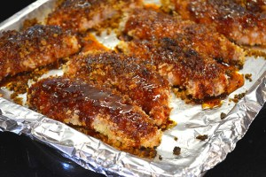 Crunchy Sweet and Spicy Chicken Tenders with Noodle Salad_08