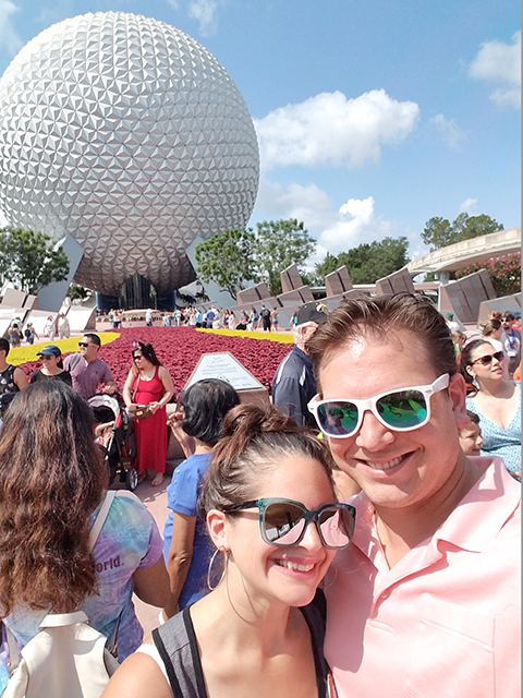 Our Anniversary Trip: Epcot