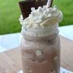 Boozy S'mores Milkshake