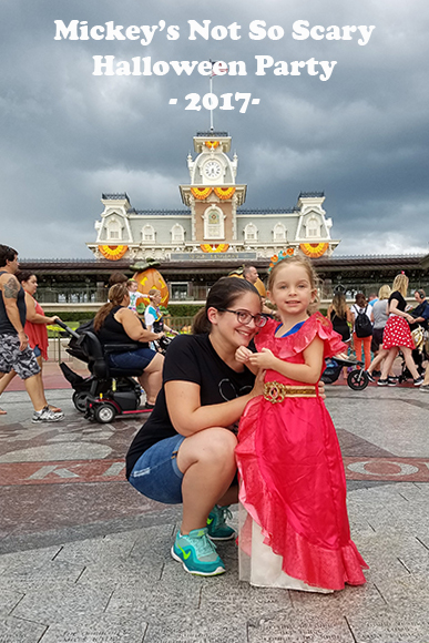 Having fun at Mickey's Not-So-Scary Halloween Party