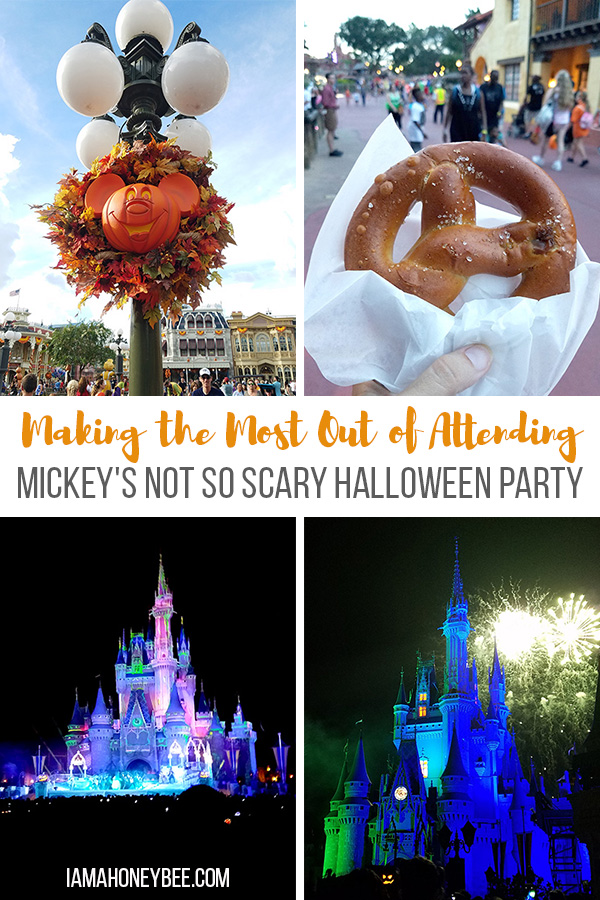 Making the Most Out of Attending Mickey's Not So Scary