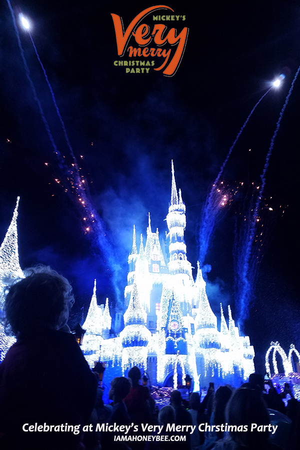 Celebrating the Holidays at Mickey's Very Merry Christmas Party