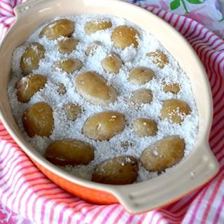 Salt-Roasted Little Potatoes