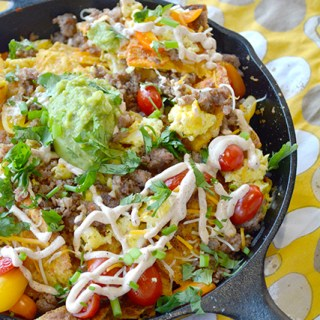The Ultimate Breakfast Nachos