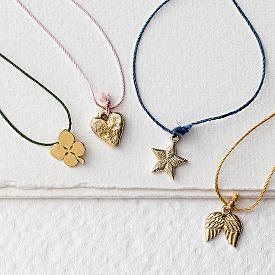wish charm necklaces
