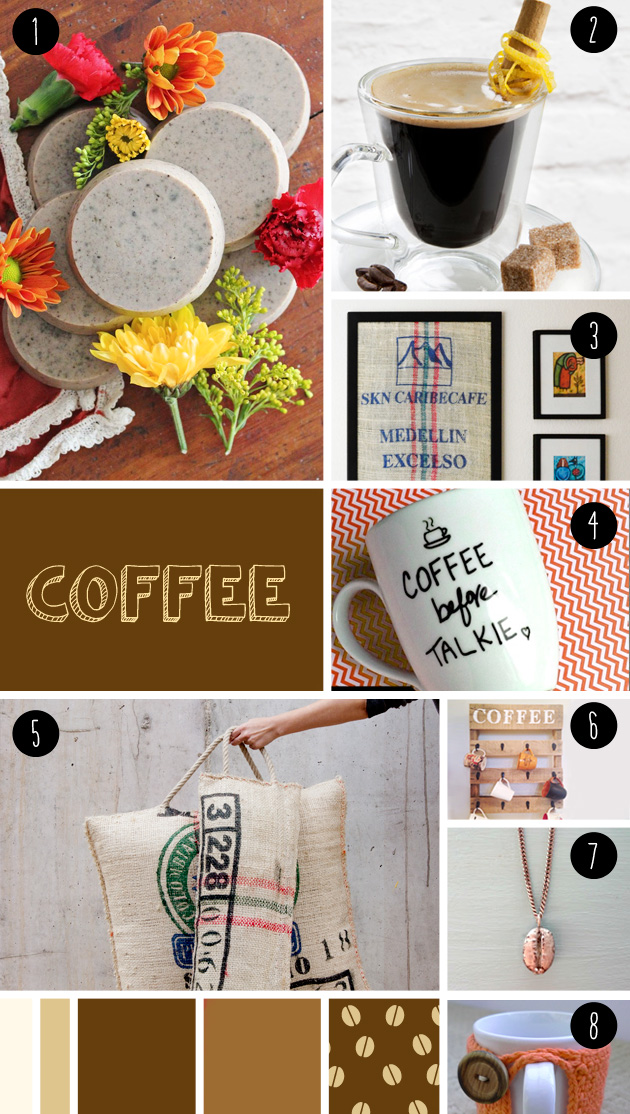 8 coffee DIY seen at 'I am a mess'