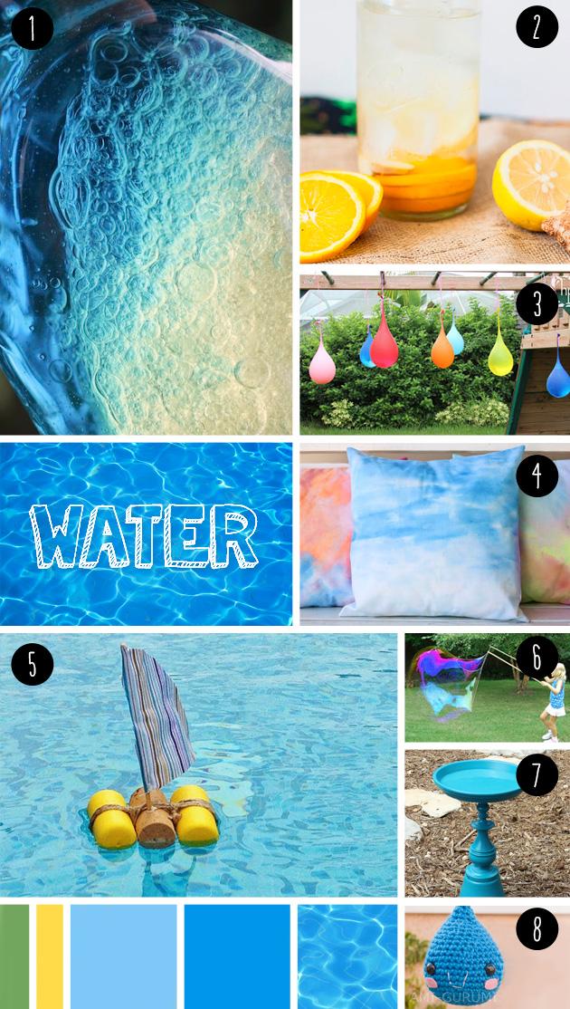 8 ideas DIY para hacer con agua este verano