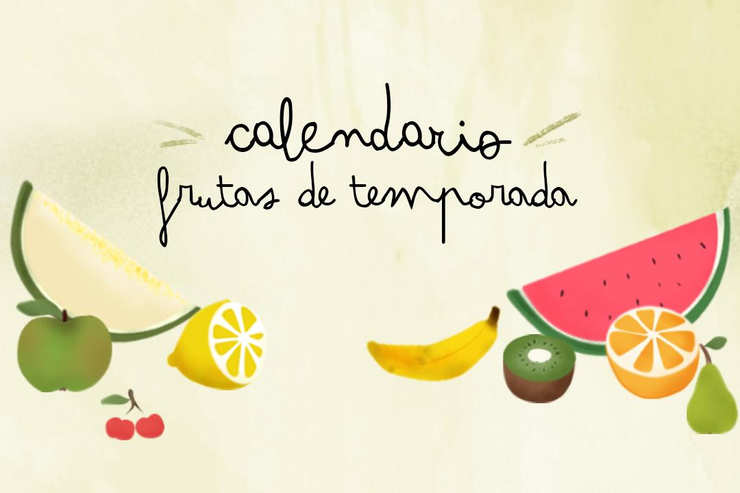 Blogersando: Imprimible de frutas de temporada
