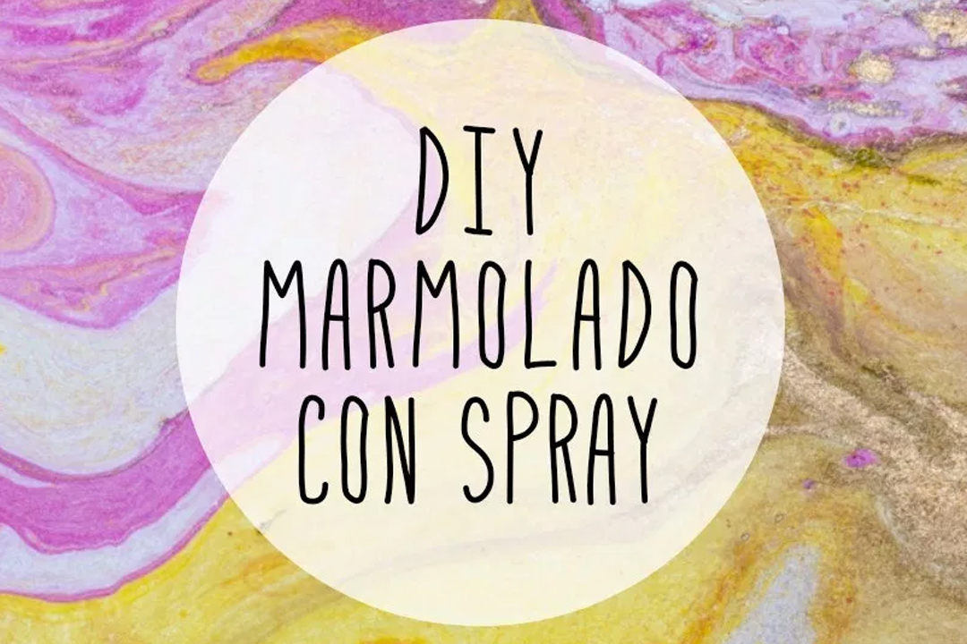 marmolado con spray DIY, visto en IamaMess blog