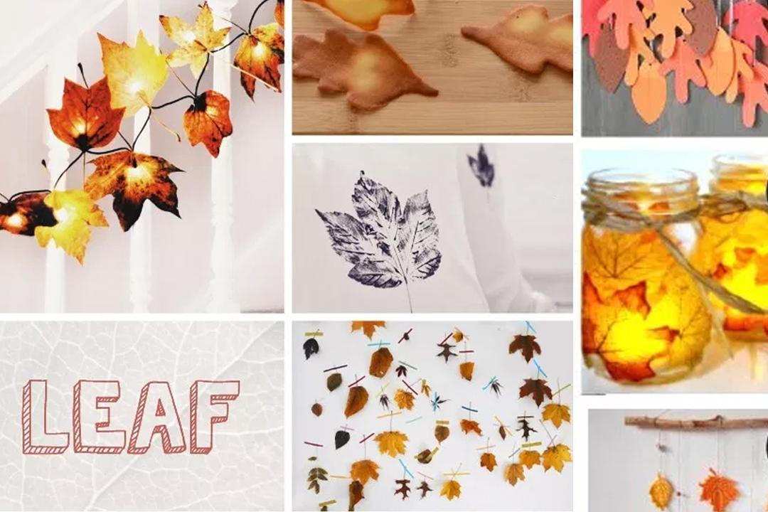 DIY: Con hojas secas