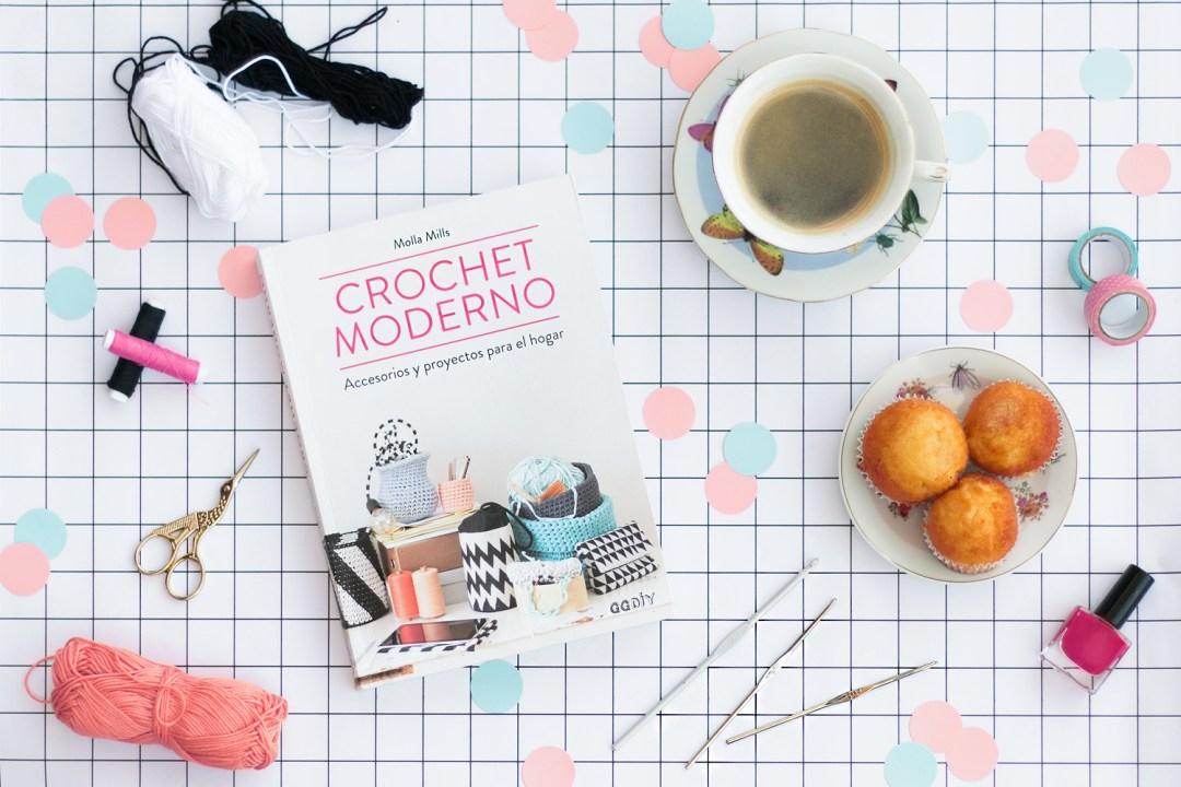 """""""Crochet Moderno"""" ggdiy. Visto en """"I am a Mess Blog"""""""