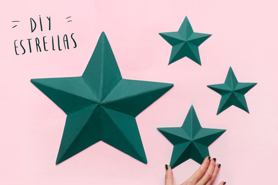 DIY estrellas faciles
