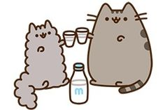 pusheen and stormy milk
