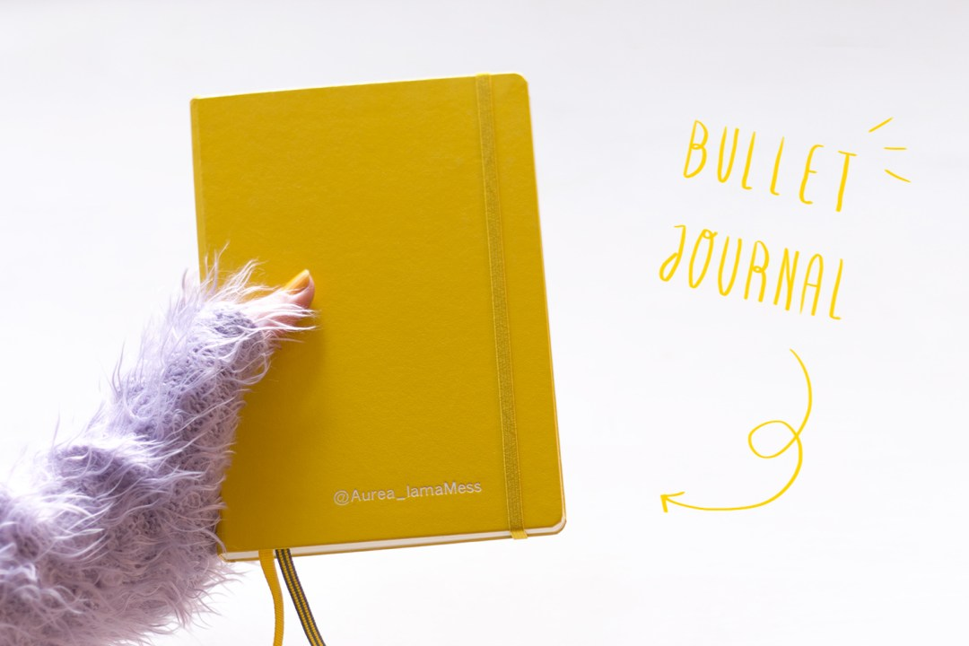 "Bullet Journal Leuchtturm, visto en ""I am a Mess Blog"""
