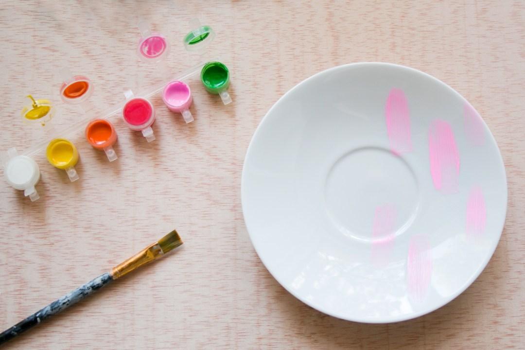 DIY pintar ceramica