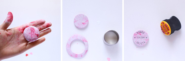 """Regalo para boda DIY, visto en """"I am a Mess Blog"""""""