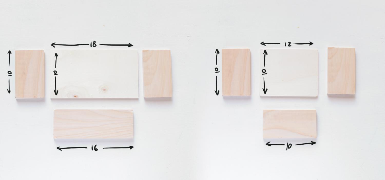 Organizador de pared diy hazlo tu misma for Bauhaus madera a medida