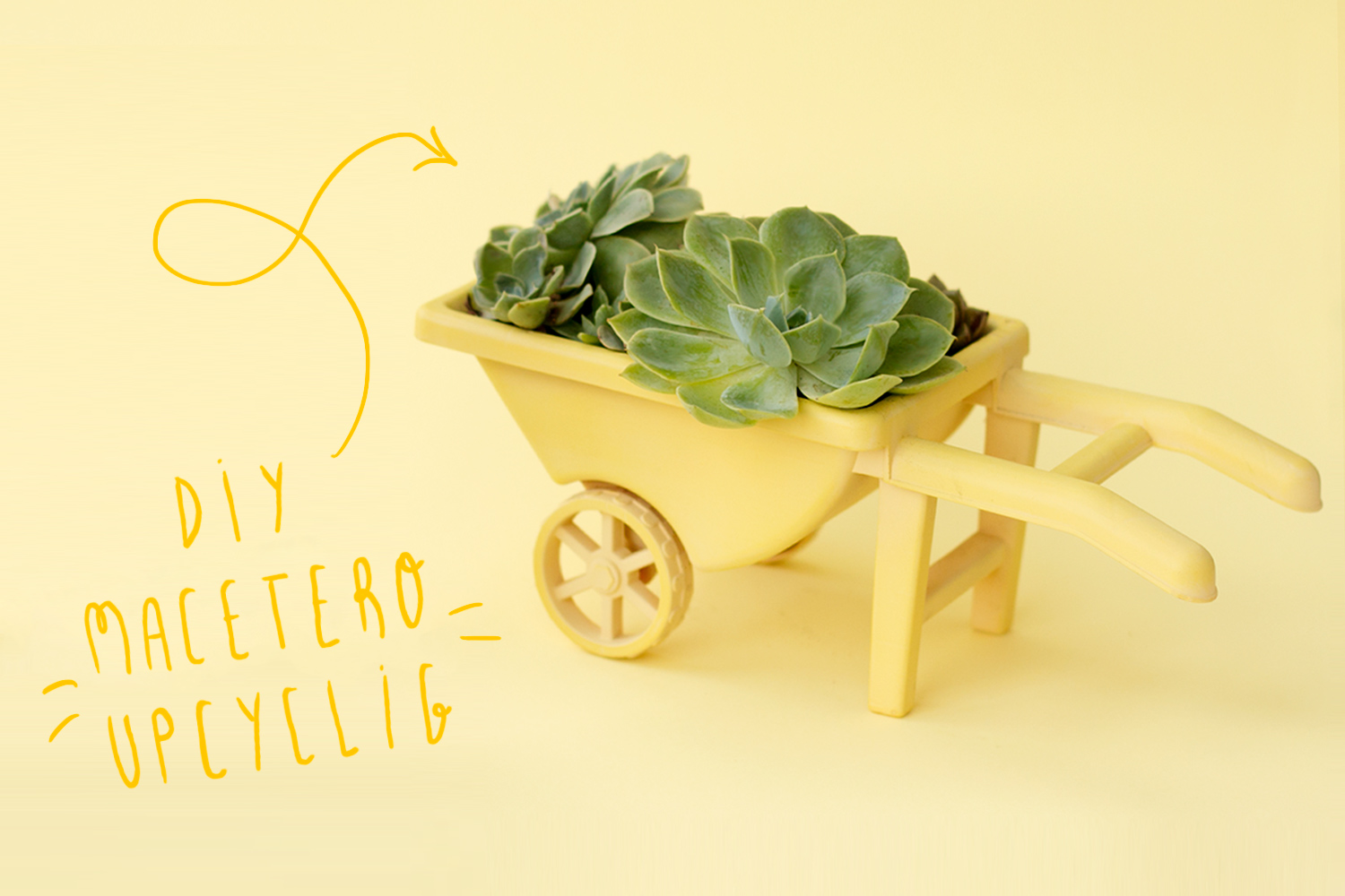 "Macetero Upcycling con spray, visto en ""I am a Mess Blog"""