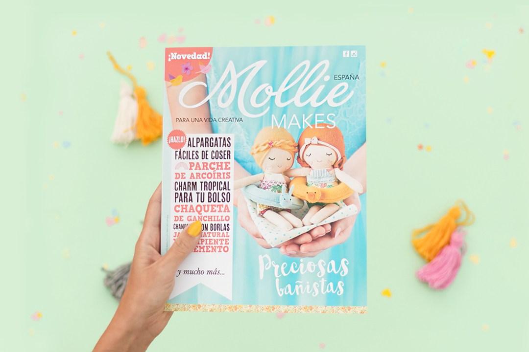 """Revista Mollie Makes - edición española - visto en """"I am a Mess Blog"""""""