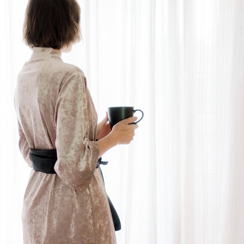 """Bata Kimono DIY paso a paso con patrón. Visto en """"IamaMessBlog"""""""