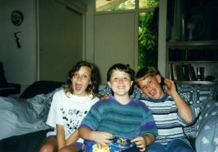 Emily Clark, Cody Clark, Ryan Scott Oliver. The 90's.