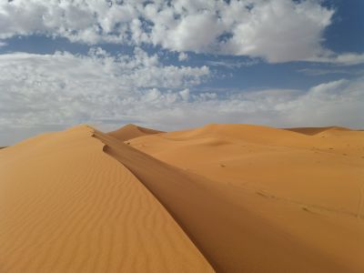 Dormir en el Desierto del Sahara