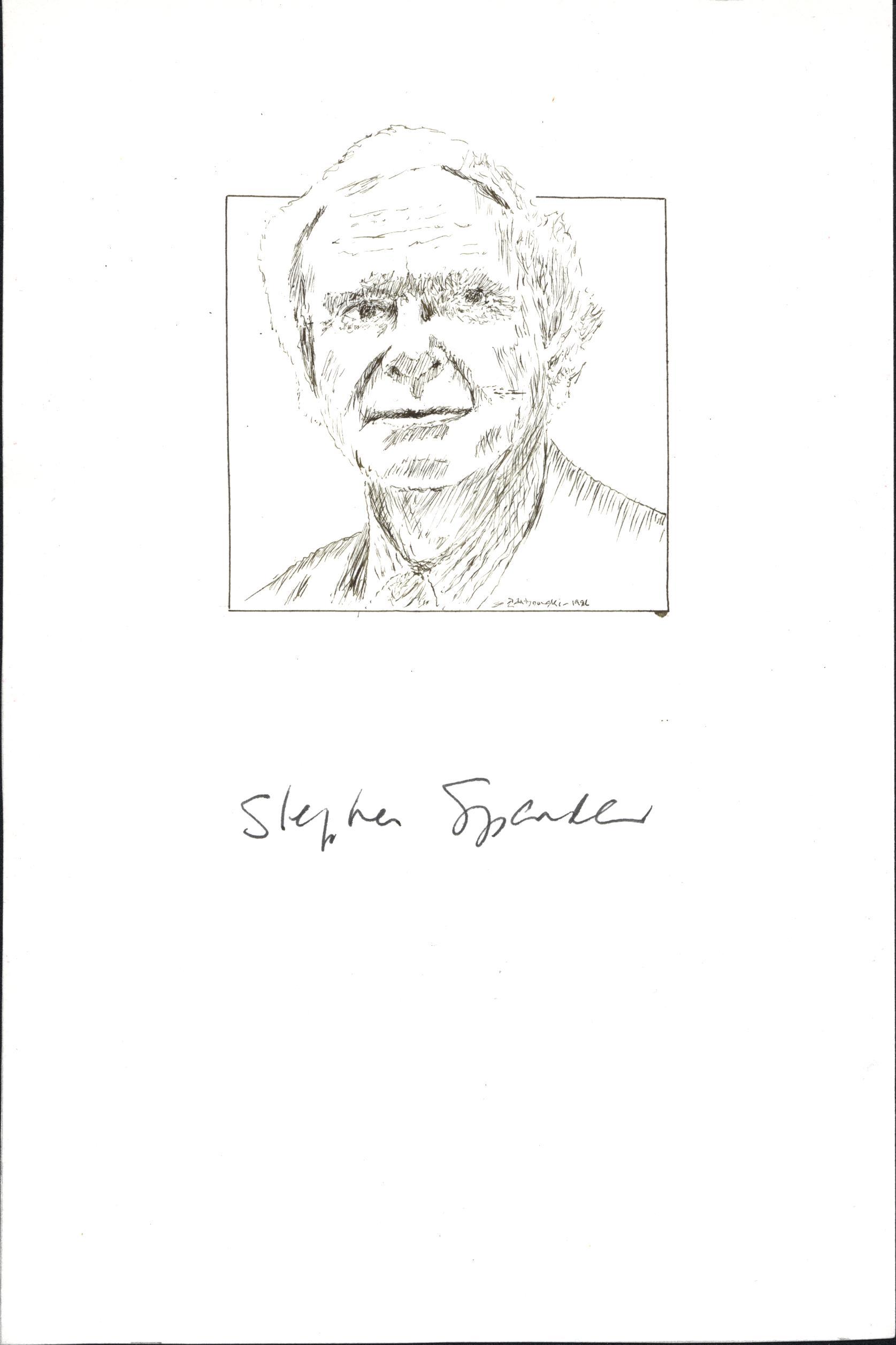 Stephen Spender Autograph