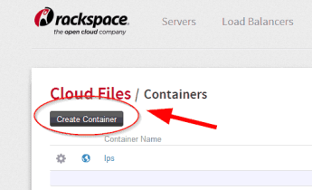 , How To Configure Rackspace CDN to Host Landing Pages