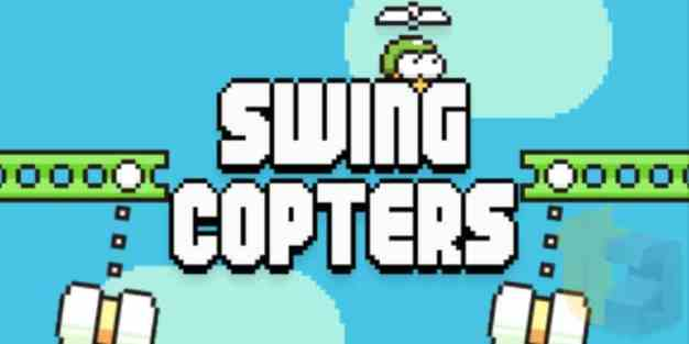 , BREAKING NEWS: Flappy Bird sequel – SWING COPTERS game