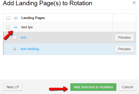 , How to create an advanced campaign with landing pages in Thrive?