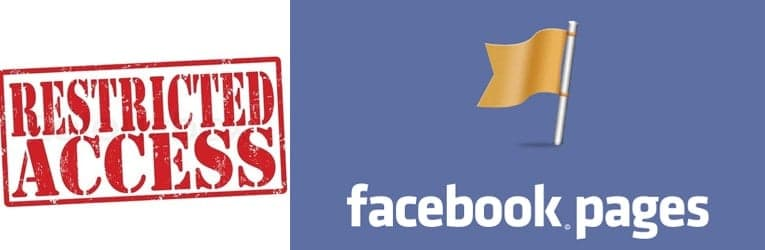 , FACEBOOK:  You are restricted from creating additional fan pages – how to work around this problem.