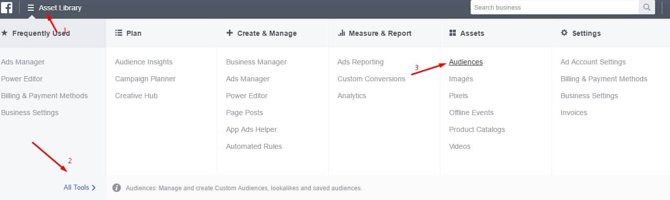 How to Create Custom Audiences for Facebook Ad Manager/Power