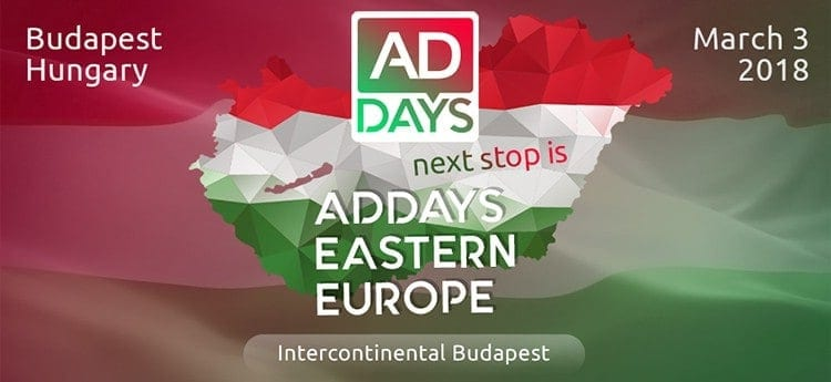 , Eastern European Conference – Ad Days Coming March 3rd!! See you there!