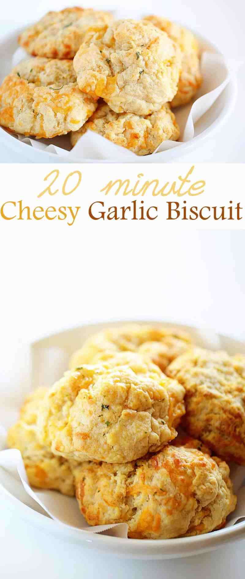 No one ever has to know it only took 20 minutes to make these MOUTHWATERING biscuits!