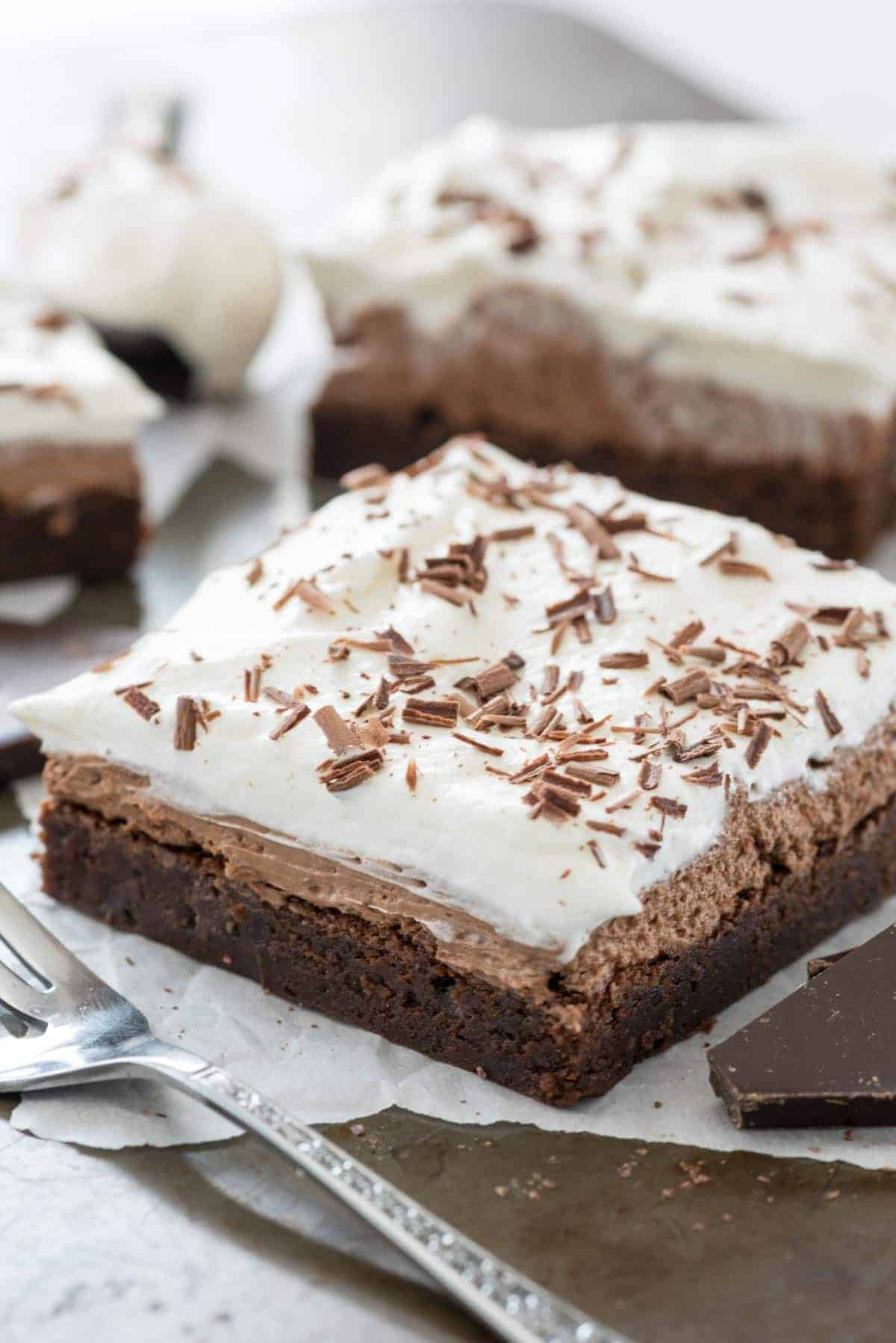 French Silk Brownies I Am Baker