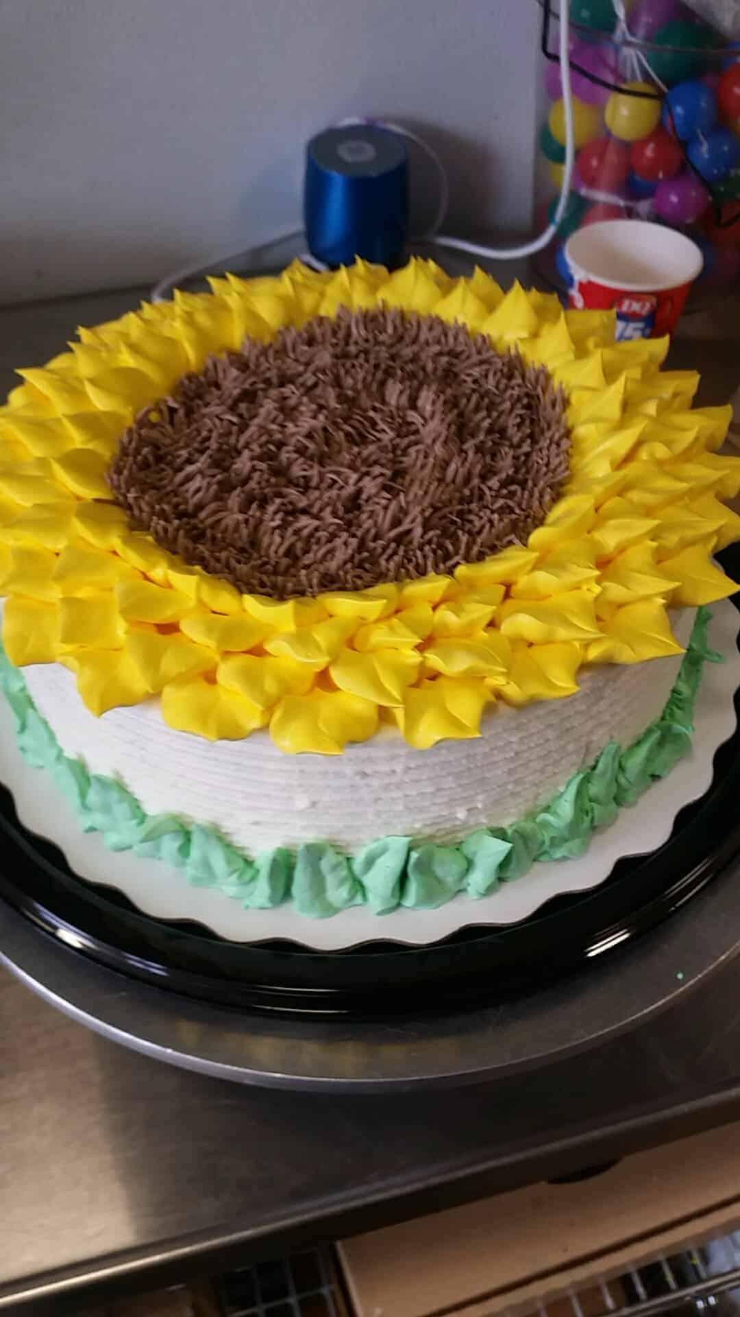 Sunflower Cake I Am Baker