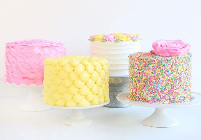 People Decorating Cakes