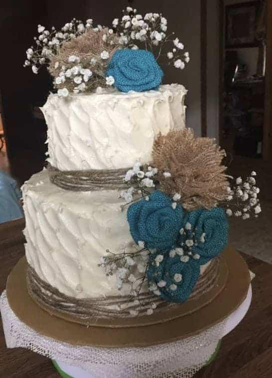 Sweet 16 Red Velvet Rustic Cake  i am baker
