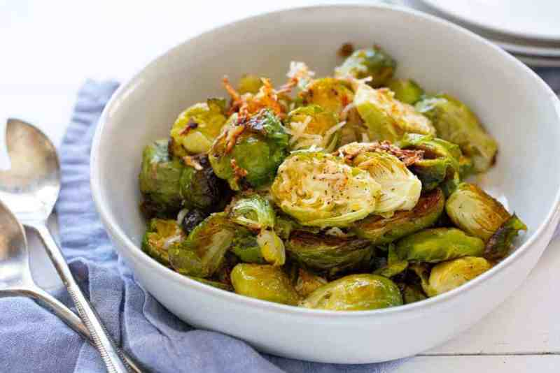 Easy Baked Brussel Sprouts