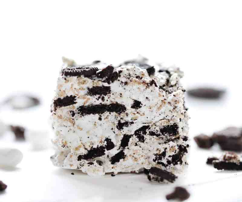 Oreo Rice Krispy Bar