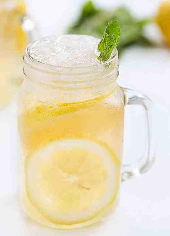 Minnesota Spiked Lemonade in a Mug
