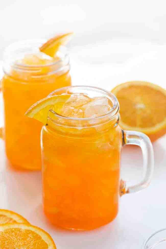 Orange Crush Cocktail in a Mug