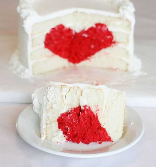 Heart Cake by i am baker