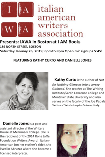 Italian American Writers Assoc  – Literary Reading and Open