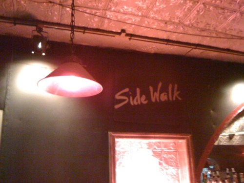 Sidewalk Cafe, East Village, New York