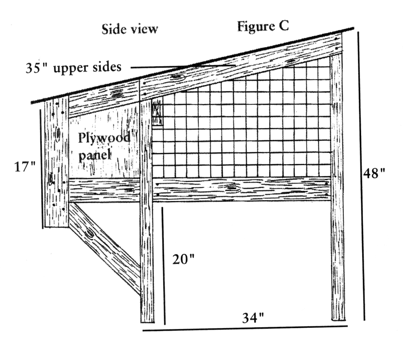 How To Build Your Own Rabbit Hutch Diagrams