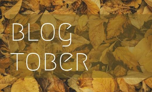 blogtober icon