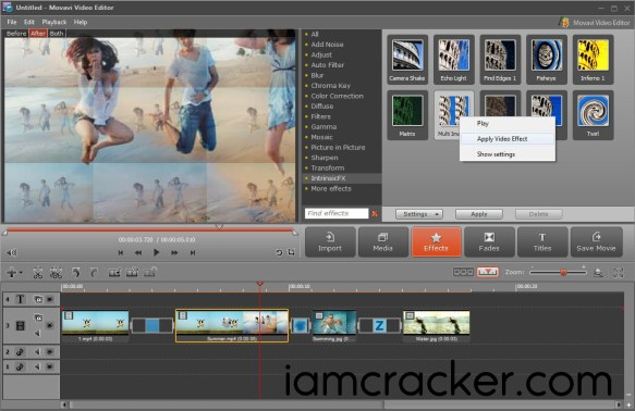 Movavi Video Editor 14.4.1 Crack Full Activation Key {Mac+Win}